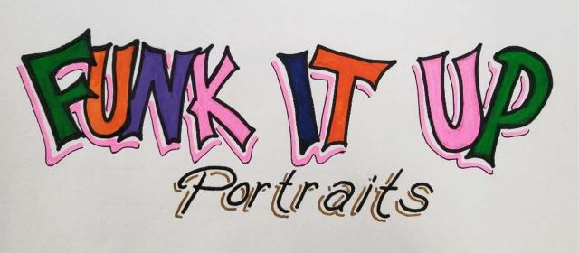 Funk it Up Portraits Logo